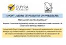 Oportunidad de pasantía en Guyra Paraguay