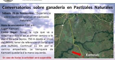 """""""Conversatorios sobre ganadería en pastizales naturales"""""""
