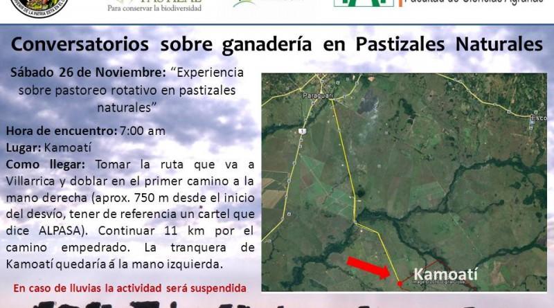 conversatorio sobre ganadería en Pastizales Naturales 26-11-2016