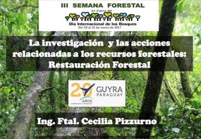 Exponen acciones para la restauración ecológica del Bosque Atlántico