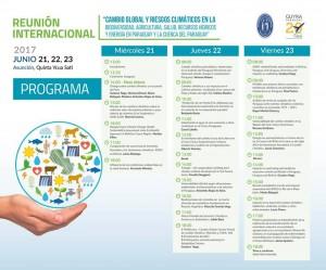 Programa Reunión Cambio climático