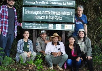 Reconocido escritor y fotógrafo de National Geographic visita la Reserva San Rafael-Tekoha Guasu