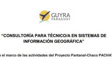 CONSULTORÍA PARA TÉCNICO/A EN SISTEMAS DE INFORMACIÓN GEOGRÁFICA