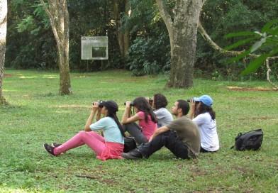 Estudiantes de Ing. Ambiental disfrutaron delaviturismoen las reservas deItaipu