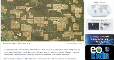 NASA-deforestación