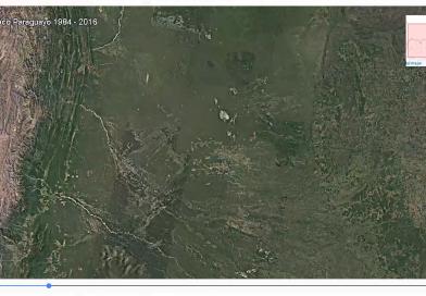 La transformación de tierras forestales en el Chaco Paraguayo desde 1984 a los ojos del mundo