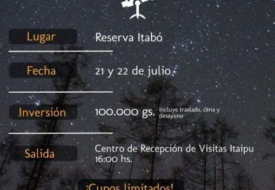 "Taller de observación de aves en el campamento astronómico ""Mbyja Guaraní Camp"""